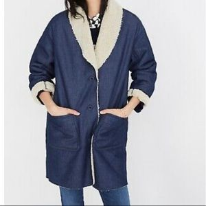 Jackets & Blazers - NWT Madewell Sherpa Jacket